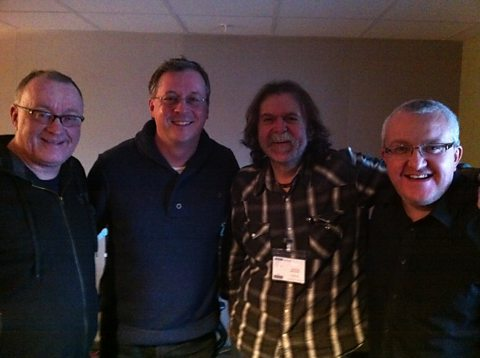Stuart, Tom English, Philip Differ and Tam