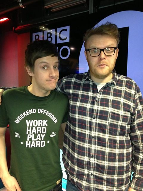 Chris Ramsey and Huw Stephens