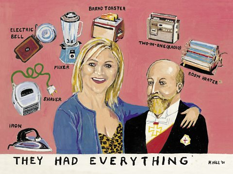 'They Had Everything': From 'My Hobby', Harry Hill's new exhibition at White Stuff, Edinburgh.