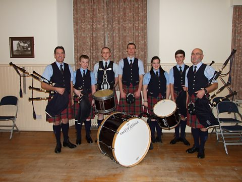 Robert Wiseman Dairies Vale of Atholl Pipe Band