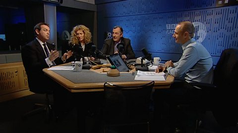 EVAN DAVIS AND HIS GUESTS