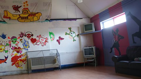BEFORE: COMMON ROOM