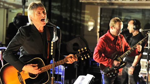 Paul Weller in session for 6 Music's 10th Birthday