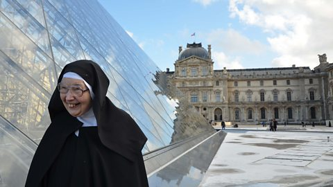 Sister Wendy at the Louvre
