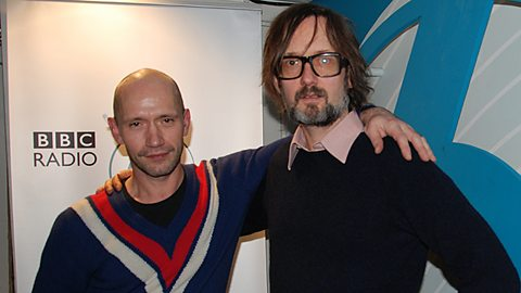 Michael Clark and Jarvis Cocker