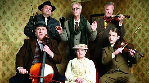 Shaun Williamson in 'The Ladykillers'