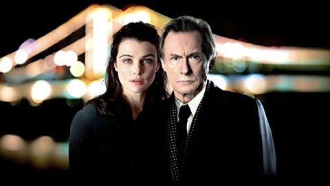 Nancy Pierpan (RACHEL WEISZ) and Johnny Worricker (BILL NIGHY)