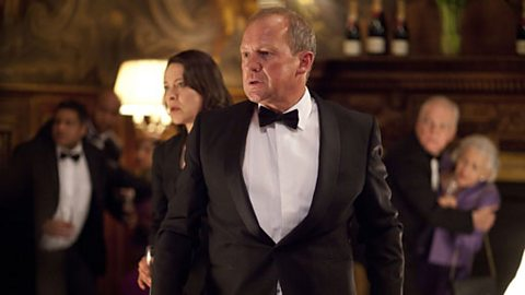 Ruth Evershed (NICOLA WALKER) and Harry Pearce (PETER FIRTH) 