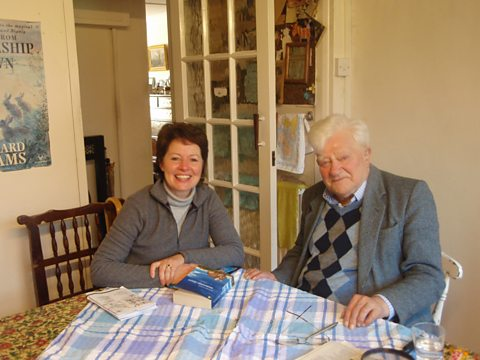 Helen Mark meets Watership Down author Richard Adams