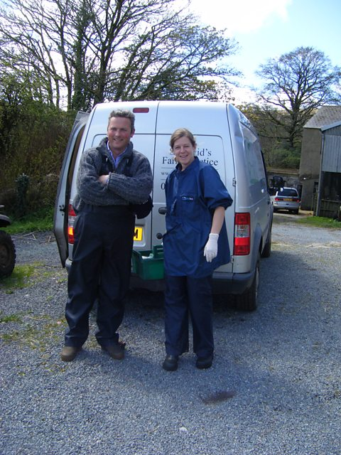 Jules Hudson meets newly qualified vet Jen Hall