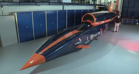 Photo: Dr Yan Wong introduces Bloodhound SSC