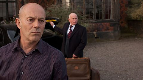 Detective Inspector Hale (KEITH ALLEN) and Jimmy West (GARY LEWIS)