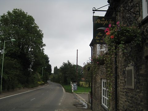 The Plough Inn where Beryl met Anne's father Vernon