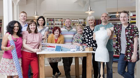 Great British Sewing Bee 2015 contestants