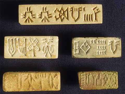 Seals from the Indus Valley