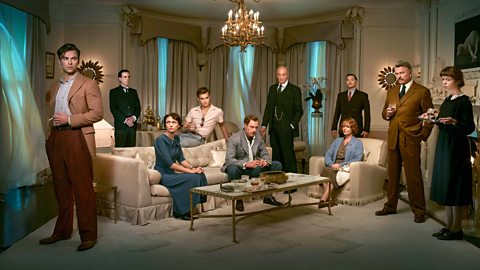 The cast of And Then There Were None