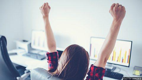Bask in your achievements 收获满满的成就感