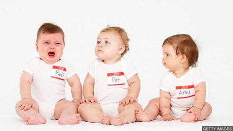 Most popular baby names revealed 英国最受欢迎的婴儿名字揭晓
