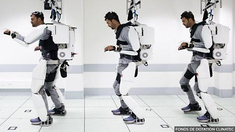 Mind-reading machine helps man walk again