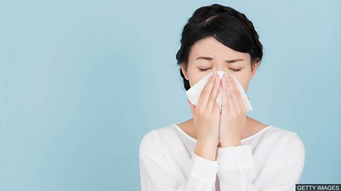 Common cold cure experiment 科学家试验治疗普通感冒的新方法
