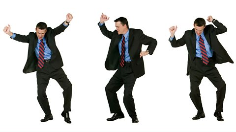 Dad dancing