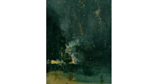 Nocturne in Black and Gold, the Falling Rocket by James Whistler