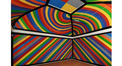 Wall drawing # 951, by Sol LeWitt