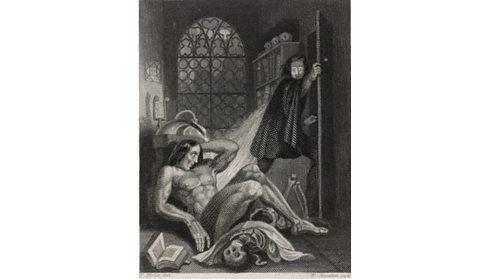 Illustration from Frankenstein
