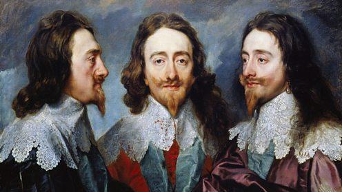 Triptych portrait Charles I