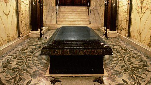 Louis Pasteur's grave