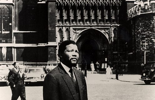 nelson mandela in london