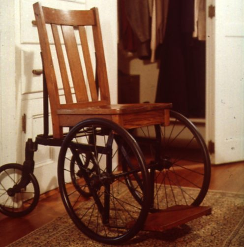 Franklin D Roosevelt's (FDR) wheelchair