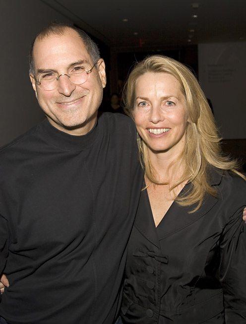 Steve Jobs And Laurene Powell In 2005