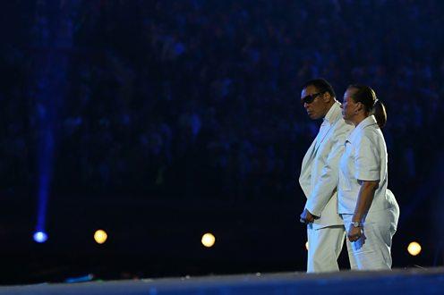 Ali at 2012 Olympics