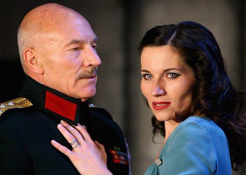 Patrick Stewart and Kate Fleetwood in Macbeth