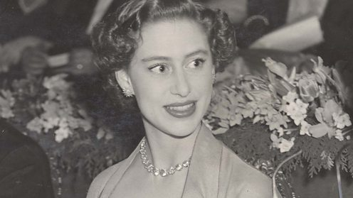 Princess Margaret at a screening of Kiss Me Kate, 1954 (Shutterstock)