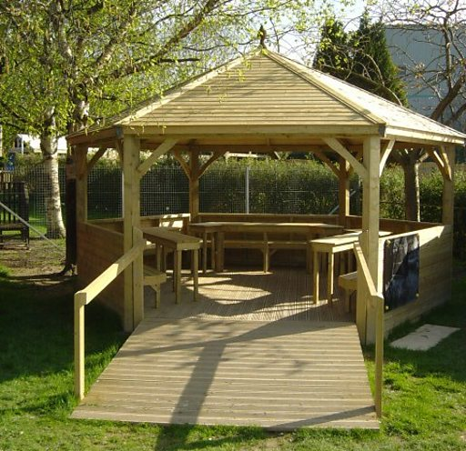 Outdoor Classroom Ideas Uk ~ Bbc radio shropshire colin young made in