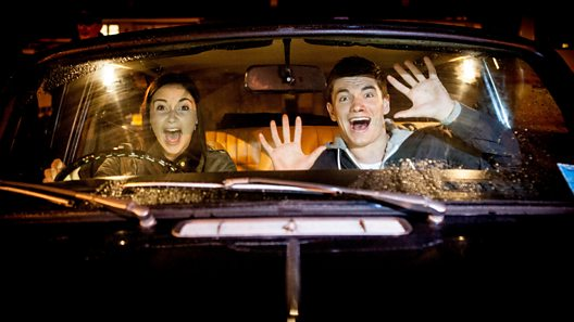 EastEnders: Spoiler pics from Lauren and Joey's car crash
