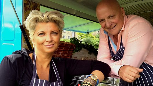 Silvena Rowe and Aldo Zilli