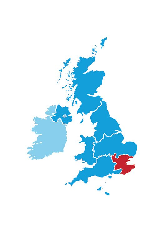 London and SE England