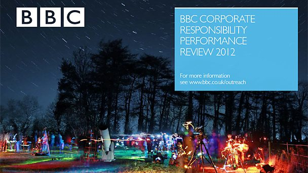 The BBC Corporate Responsibility Performance Review