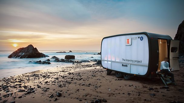 New Listening Project Booth travelling around the UK