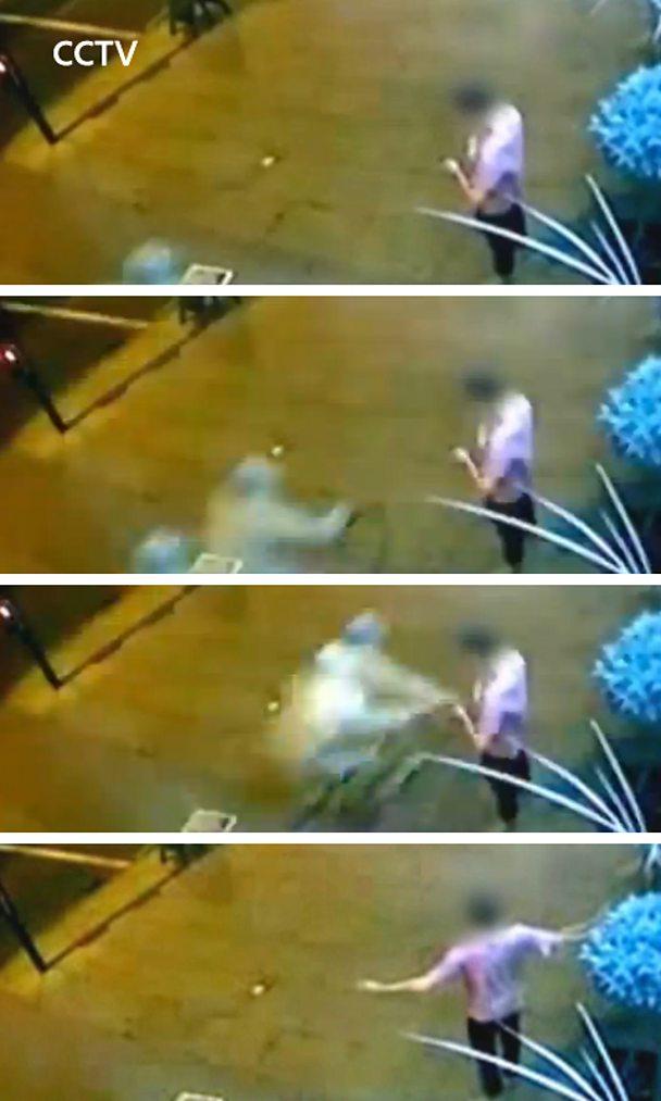 CCTV of phone stolen
