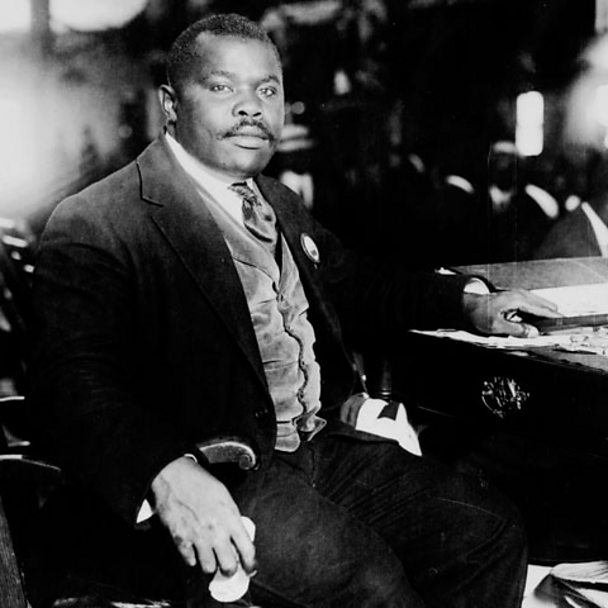 Marcus Garvey in 1924