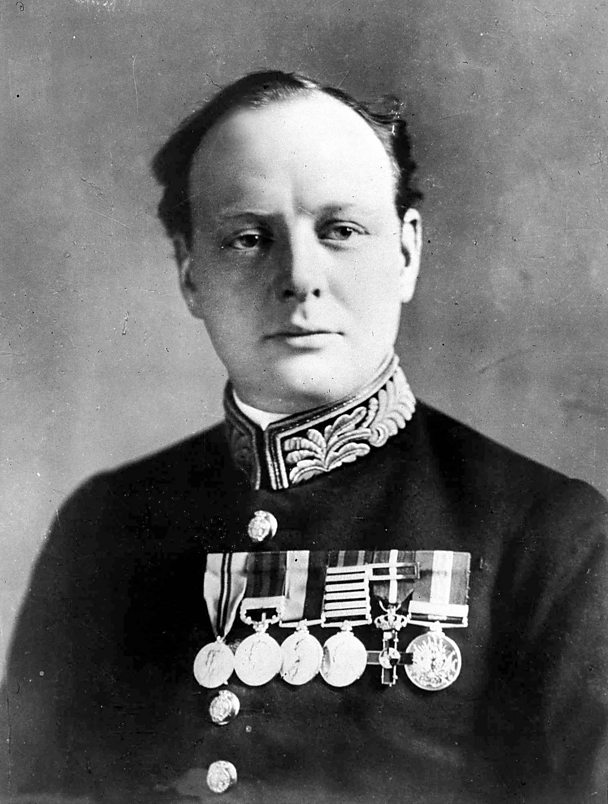 Winston Churchill as Lord of the Admiralty in 1914