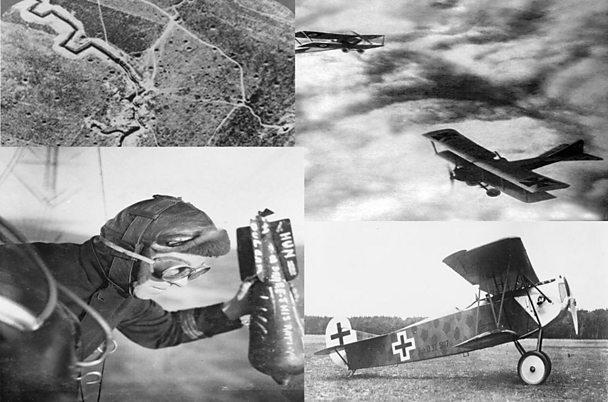 Evolution of World War One aircraft