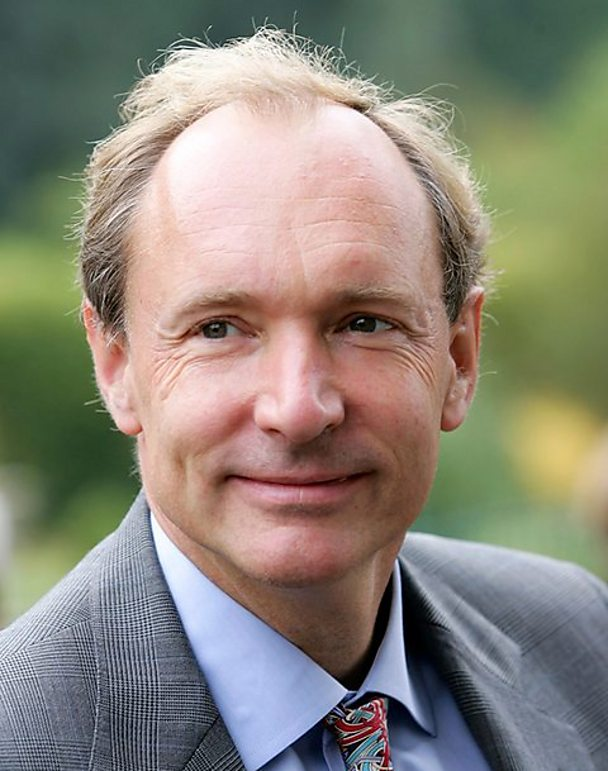 A photo of Tim Berners-Lee