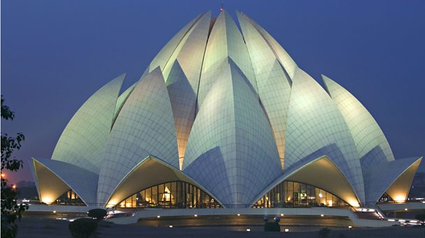 Baha'i Lotus Temple in New Delhi