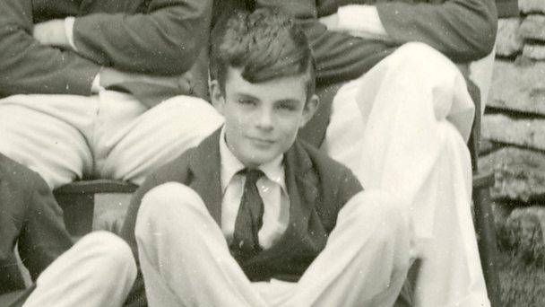 Alan Turing, aged 15, Sherborne School.