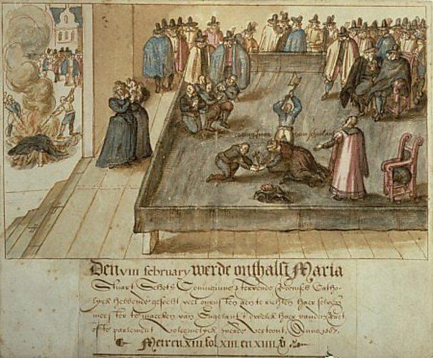 Mary execution
